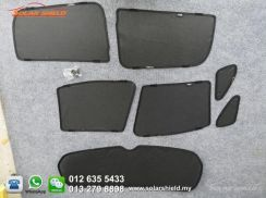 Mitsubishi ASX Ninja Sun Shade 7 Pieces Sunshade