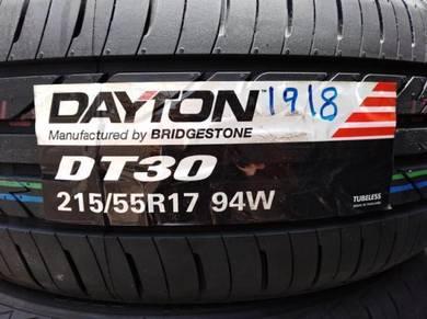 215/55/17 Dayton DT30 Tyre Bridgestone Tayar
