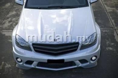 Mercedez Benz C Class W204 Black Front Grill