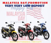 Super low deposit promotion for malaysia day