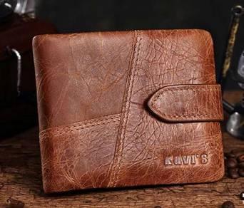 Kavi's Italy Genuine Cow Leather Men's Wallet
