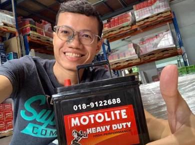 Bateri Kereta Car Battery Delivery Keramat NS40