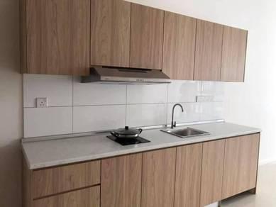 Kabinet dapur mampi milik ( melamine ABS )