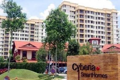 Cyberia SmartHomes 925sf Cyberjaya RENOVATED GOOD CONDITION F/LOAN