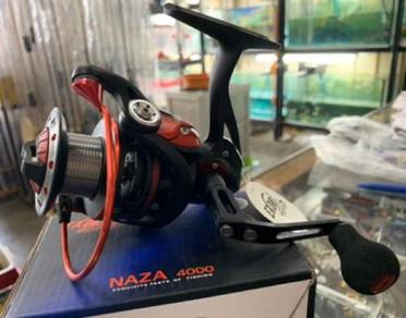 Exori Naza 4000 (Fishing Reel) Mesin Pancing