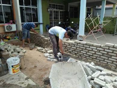 Tiles,partition dan siling kapor melaka