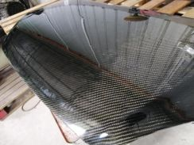 Carbon fiber bonnet myvi