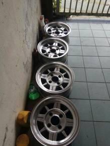 13Inch 6jj Japan Toyo Z Wheel