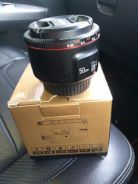 50Mm lens f1.8 canon mount