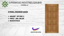 8  Panel Engineered Wooden Door.