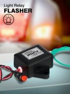 (FREE POS) FLASH LIGHT RELAY baru