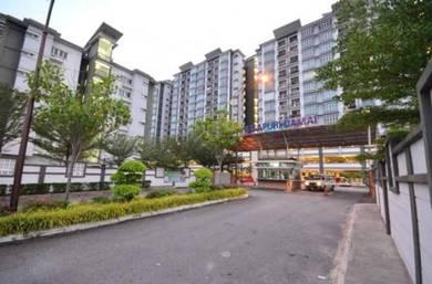 Pangsapuri Damai, Taman Sri Muda, Seksyen 25, Shah Alam (2 PARKING)
