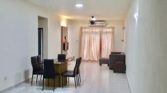 Fully furnished and newly painted Tebrau City Residences