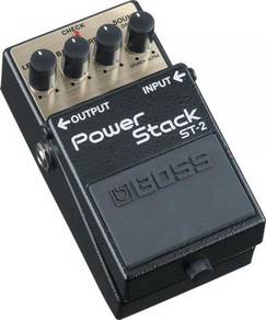 BOSS ST-2 Power Stack - Guitar Pedal (FREE Cables)