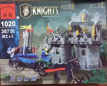 Bricks - EN 1020 (Knight) Fraternal FOrt Castle