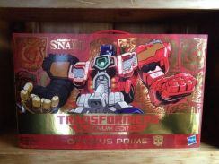 Year of the Snake Optimus Prime Platinum Edition