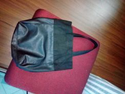 H and M faux leather bag
