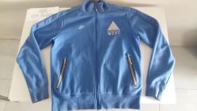 Nike Original Rare Blue Sweater Jacket Size L