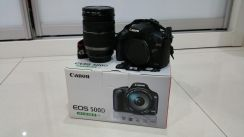 Canon 500D with 18-200 kit lens