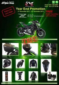Kawasaki Z650 ABS - Year End Promotion