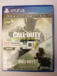 NEW PS4 Call of Duty: Infinite Warfare+Modern War
