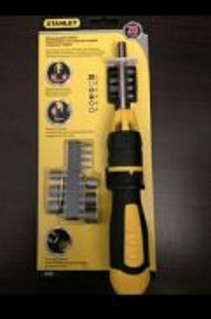 Stanley62-574 Multibit Ratcheting Screwdriver