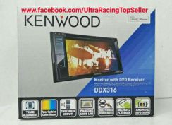 Kenwood Monitor with DVD Receiver DDX316