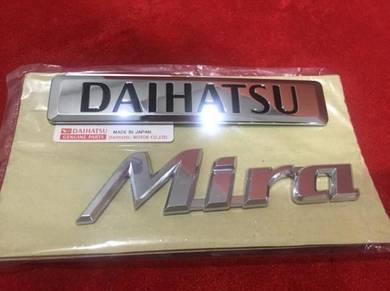 Daihatsu mira emblem original