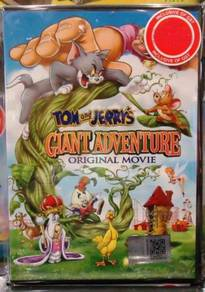 DVD ANIME Tom and Jerrys Giant Adventure Movie