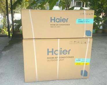 New Aircond Haier Digital Display 1hp