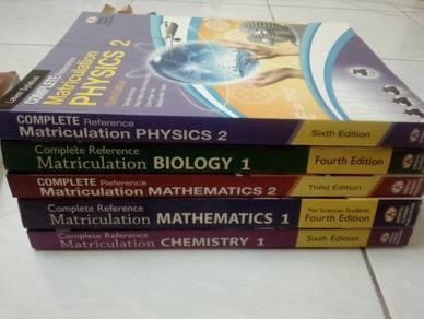 Buku rujukan matrikulasi