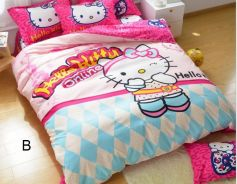 Bedsheet Hello Kitty suitable single bed with quil