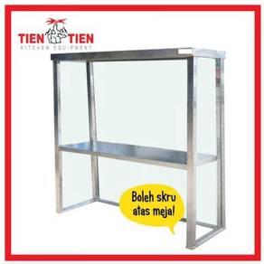 TIEN TIEN Stainless Steel Overshelf / Rak Meja