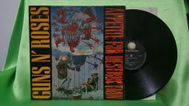 Guns N' Roses APPETITE FOR DESTRUCTION 1987 LP