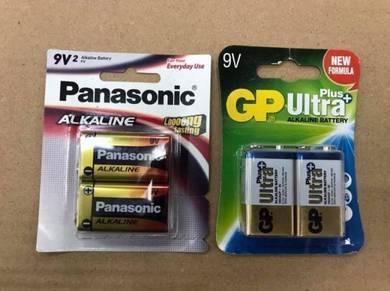 ORI 9v Alkaline Battery Panasonic / GP Ultra P