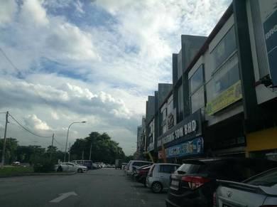 Kepong Taman Wahyu (Facing Main Road/Busy Area/Crowded/Retail)