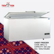 5ft Snow Chest Freezer 540 Liter