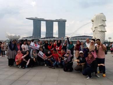 Singapore daytrip tour & uss dari kl sentral