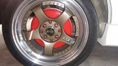 Rim SSR R16 PCD 100/114 ET38
