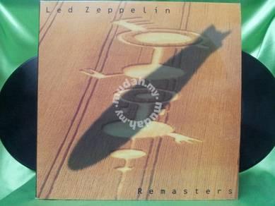 Led Zeppelin REMASTERS 1990 Atlantic 3LP SALE