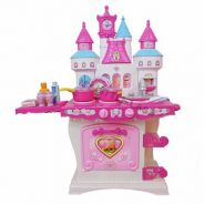 Castle Fun Kitchen Cooking Play set with Sound