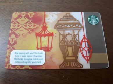 Starbucks Malaysia Ramadan 2017 Card