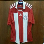 Jersey Paraguay Home ( World Cup 2010 )