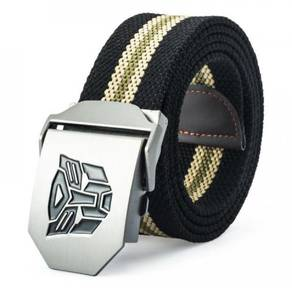 (001) TRANSFORMERS AUTOMATiC METAL BUCKLE BELTS