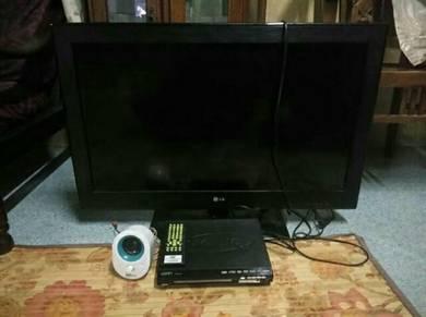 Tv lcd player dvd