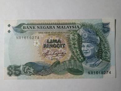 LIMA RINGGIT 1st. Prefix NA - Aziz Abdul Hj. Taha