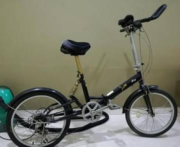 Folding bike to sale