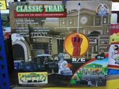 Classic train with controller