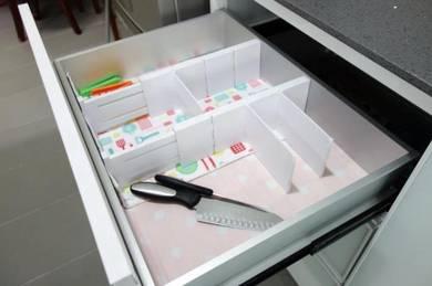 Aluminium Kitchen Cabinet (white) - 4