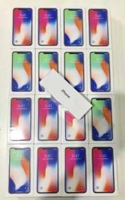 IPhone X 64GB ORI SEALED BOX FREE 10 GIFTS